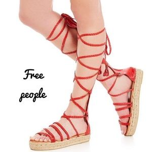 Brand New  Free People Bondi Tall Gladiator Sandal